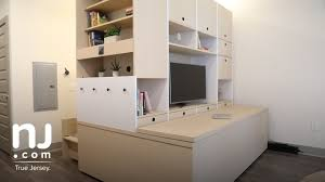 furniture that transforms. Robotic Furniture Transforms Studio Apartments That
