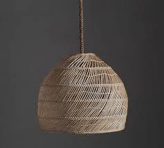 wicker pendant light. Flora Rattan Pendant Wicker Light A