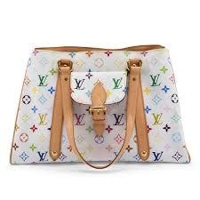louis vuitton white bag. louis vuitton white multicolore monogram aurelia bag n