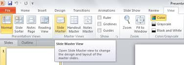 Creating Powerpoint Templates Using The Slide Master To Create Professional Powerpoint