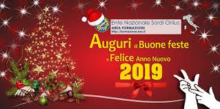 Auguri di Buone Feste e Felice Anno Nuovo 2019