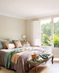 Country Bedrooms French Doors With Beautiful