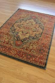 ziegler dark blue traditional rug 8788