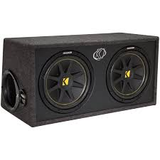 speakers in box. kicker dc122 comp series dual 12\ speakers in box s