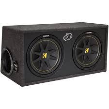 speakers in box. kicker dc122 comp series dual 12\ speakers in box s