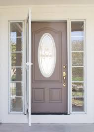 front door painting for instant curb