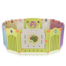 baby vivo foldable baby child playpen for indoor and outdoor safari bild 2