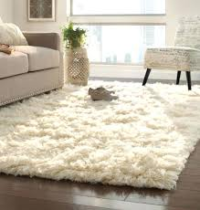 plush area rugs 8x10 awesome white rug fuzzy in fluffy modern are