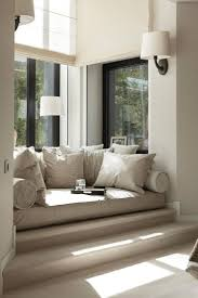 Furniture: Wall Sconces With Round Sofa For Bay Window Also Drum intended  for Bay Window