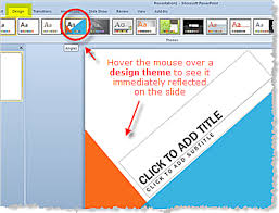 themes for ms powerpoint design themes in powerpoint 2010