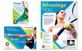Sport & Fitness Flyer Template