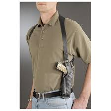 leather vertical shoulder holster black double tap to zoom