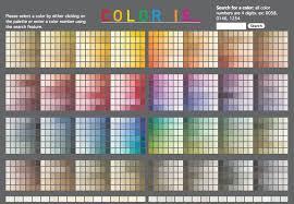 Solver Paints Colour Chart Online Browse Our Colors Hirshfields