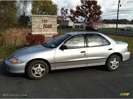 2000 Ultra Silver Metallic Chevrolet Cavalier Sedan #56398146 ...