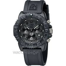 men s luminox navy seal colormark 3080 series blackout chronograph mens luminox navy seal colormark 3080 series blackout chronograph watch a3081 bo 1
