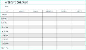 Weekly Meeting Calendar Template Easy Monday Friday Calendar Template Word Of Free Printable Weekly