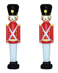 Christmas Lighted Soldiers