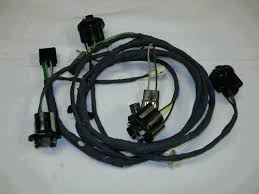 camaro rear body tail light wiring harness for standard models larger