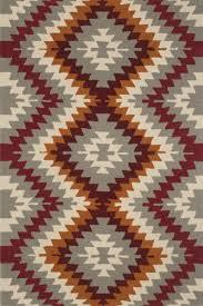 home multicolor aztec hand tufted carpet zoom