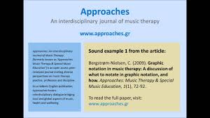 the new journal of music