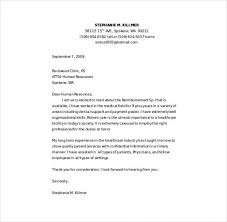 Cover Letters Templates Free Rn Cover Letter Template 10 Nursing Cover Letter Templates Free