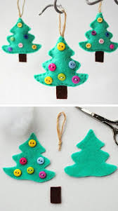 Top 38 Easy And Cheap DIY Christmas Crafts Kids Can Make  Amazing Christmas Tree Ornament Crafts