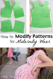 Maternity Patterns New How To Modify Patterns For Maternity Use Melly Sews Pinterest