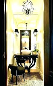 powder room lighting houzz powder room chandelier chandeliers lighting tips and sconces 2 r image by powder room lighting