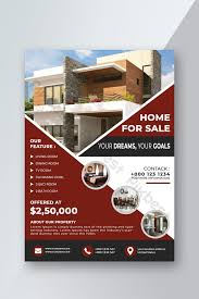 Real Estate Brochure Template Free Real Estate Flyer Template Psd Free Download Pikbest
