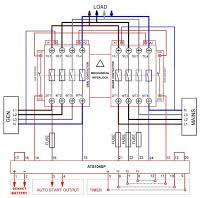 automatic changeover switch wiring diagram automatic automatic transfer switch ats circuit diagram on automatic changeover switch wiring diagram