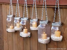 1. Candlelit Mason Jars