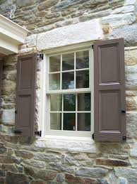 Diy Exterior Window Shutters Shutter Design Ideas