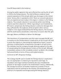 sample essay on bp oil spill fishing industry 2 how bp