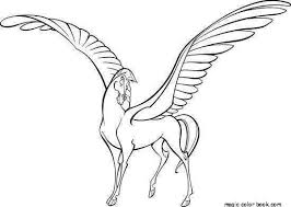 Small Picture Unicorn Horse Coloring Pages Coloring Pages