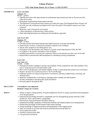 Pacu Nurse Resume Pacu Rn Resume Samples Velvet Jobs 5