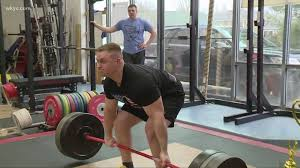 grafton gym holds power lifting peion to benefit police families wkyc