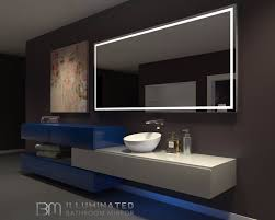Bathroom Heated Mirrors Modern Lighted Bathroom Mirror Backlit Bathroom Mirror Ib Mirror