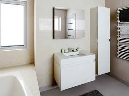 Modern Recessed Medicine Cabinets for Bathroom with white color