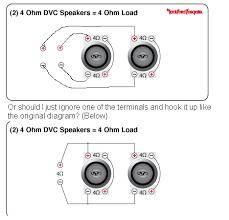 4 ohm sub wiring diagram facbooik com Dual 1 Ohm Sub Wiring Diagram alpine type r 10 wiring diagram wiring diagram dvc 1 ohm wiring diagram