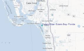 Estero River Estero Bay Florida Tide Station Location Guide