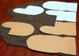 Sweater Mitten Pattern Simple Decoration