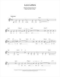 Piano + voice duo pdf. Elvis Presley Love Letters Sheet Music Download Printable Pop Pdf Lead Sheet Fake Book Score Sku 14101