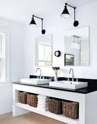 industrial bathroom lighting. Industrial Bathroom Vanity Lighting Modern Light Chic Lights Narrow T