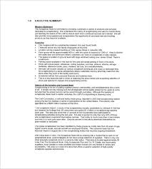 Retail Business Plan Outline Retail Business Plan Template 13 Free Word Excel Pdf Format