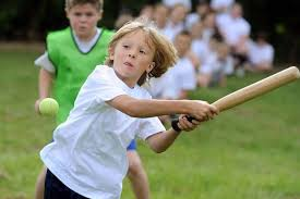 Image result for children playing rounders