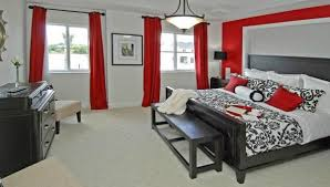 Stunning Decoration Red And Grey Bedroom Red And Grey Bedroom 1000 Ideas  About Bedrooms