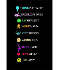 Healthy Living Quotes Gorgeous Painting Mantra Healthy Living Quotes Poster Buy Painting Mantra