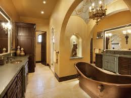 Old World Decorating Accessories TuscanStyle Bathrooms HGTV 45