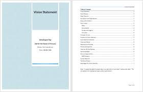 my vision statement sample 17 free vision statement templates ms office documents