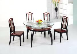 glass top dining table round glass dining table sets photo of glass round dining table set
